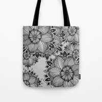 gray Tote Bags featuring Gray  by rskinner1122