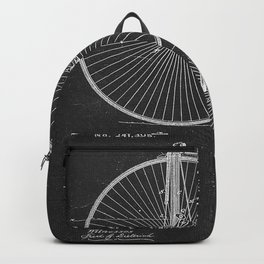 Velocipede  Patent 241395 By J. A. Mckenzie Backpack