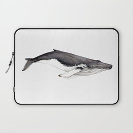 Humpback whale for whale lovers Laptop Sleeve