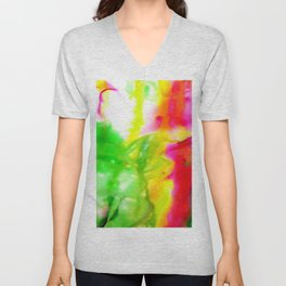 Abstract Bliss 5G by Kathy Morton Stanion Unisex V-Neck