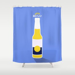 In My Fridge - Beer Shower Curtain