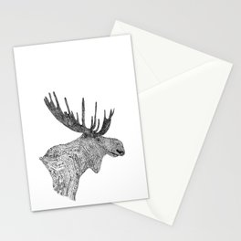 Maud the Moose Stationery Cards