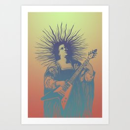 V - Psych Art Print