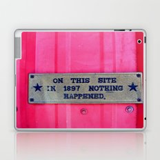sure it didn't. Laptop & iPad Skin