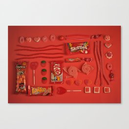 Red Candy Canvas Print