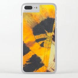 Dyeing Fall Clear iPhone Case