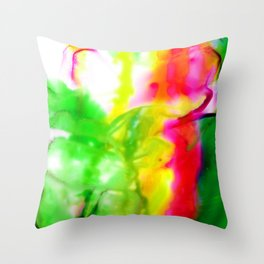 Abstract Bliss 5G by Kathy Morton Stanion Throw Pillow