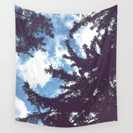sky & pine Wall Tapestry
