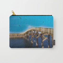 The Fishing Boardwalk Carry-All Pouch