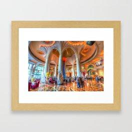 Atlantis Palm Dubai Hotel Lobby Framed Art Print