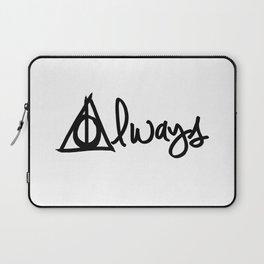 Always, Deathly Hallows, Harry Potter Laptop Sleeve