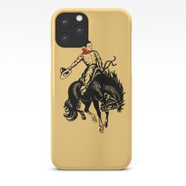 The Vintage Rodeo Safety Matches iPhone Case