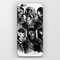 wwe iPhone & iPod Skins featuring WWE 1789 by DIVIDUS