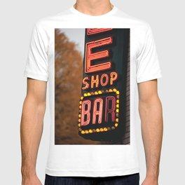 Vintage Bar Marquee Art Print T-shirt