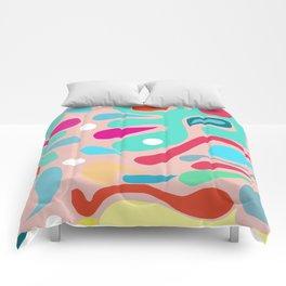 Summer Dream in Green Comforters