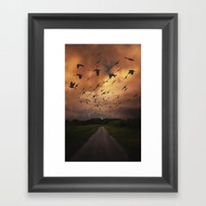 Nightfall Framed Art Print