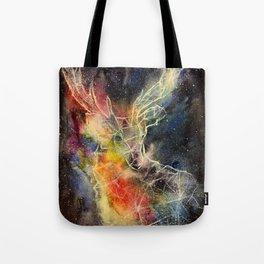 Deer constellation Tote Bag