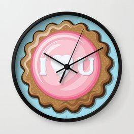 ZA-Cookie: I Love U Wall Clock