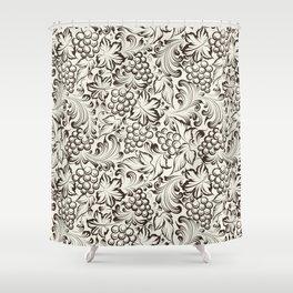 Vine seamless background Shower Curtain
