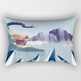 Polar Fish Rectangular Pillow