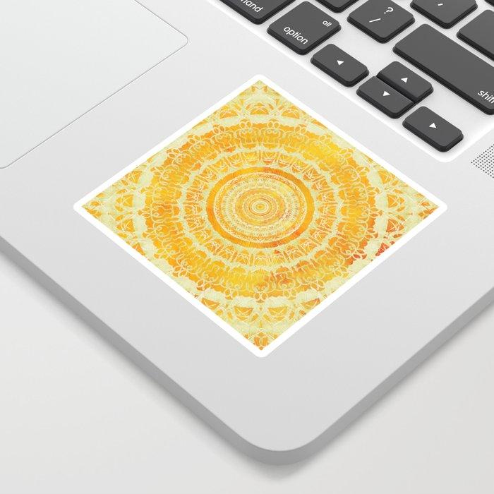 Sun Mandala 4 Sticker