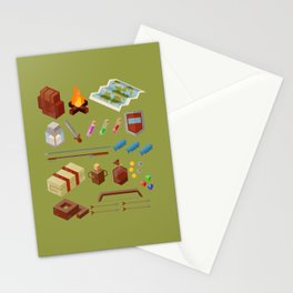 Adventure Gear Stationery Cards