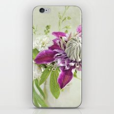 Clematis 'Josephine' iPhone & iPod Skin