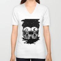 wizard V-neck T-shirts featuring Wizard smoke by X V I I I