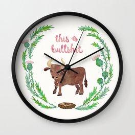 This is bullshit Wall Clock