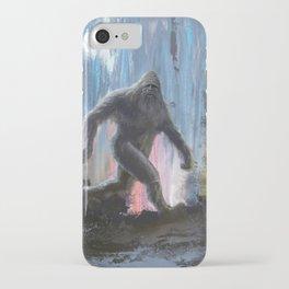 Bigfoot at Twilight iPhone Case