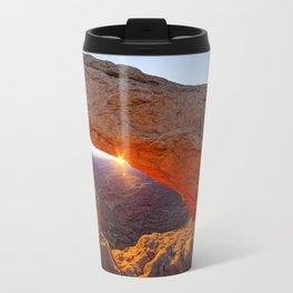 Mesa Arch Sunburst Travel Mug