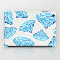 diamond iPad Cases featuring diamond by Ceren Aksu Dikenci