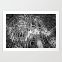 St Patrick's Cathedral New York Art Art Print