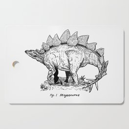 Figure One: Stegosaurus Cutting Board