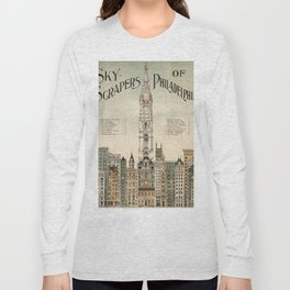 Vintage poster - Philadelphia Long Sleeve T-shirt