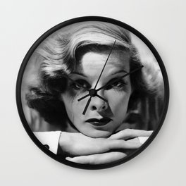 Katharine Hepburn Wall Clock
