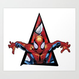 Youtriangle ∆ SpiderMann Art Print