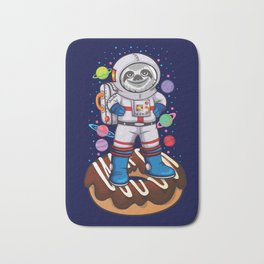 Space Sloth Bath Mat