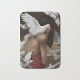 Doves Bath Mat