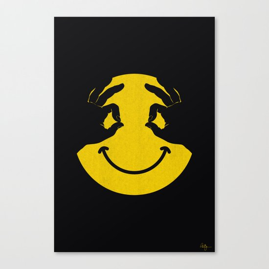 Make You Smile Canvas Print