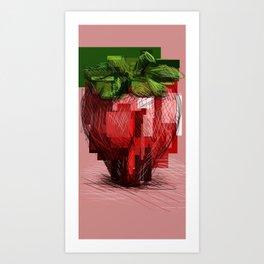 Rawberry Art Print