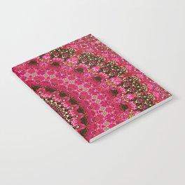 Pink Flower in Greece 2 Notebook