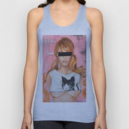 Here Kitty Kitty Unisex Tank Top