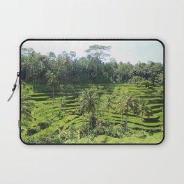 Ubud Rice Fields Laptop Sleeve