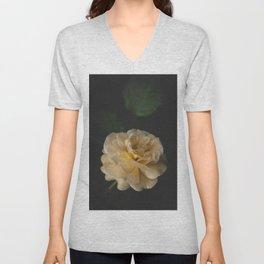 Roses (double exposure) Unisex V-Neck