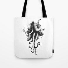 Octoelephant Tote Bag