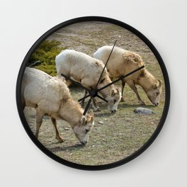 Grazing Herd Wall Clock