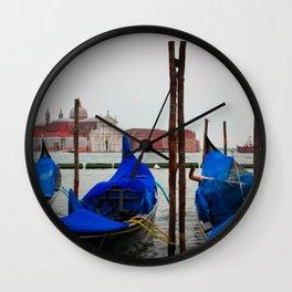 Venice Gondala Wall Clock