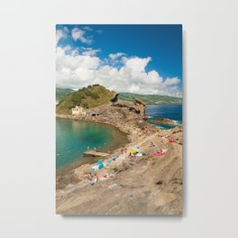 Sunbathing at the islet Metal Print