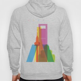 Shapes of Madrid. Accurate to scale. Hoody